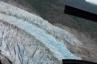 aerial view of th eglacier
