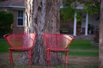 red chair two